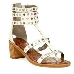 Sam Edelman Dion white gladiator sandal size 8